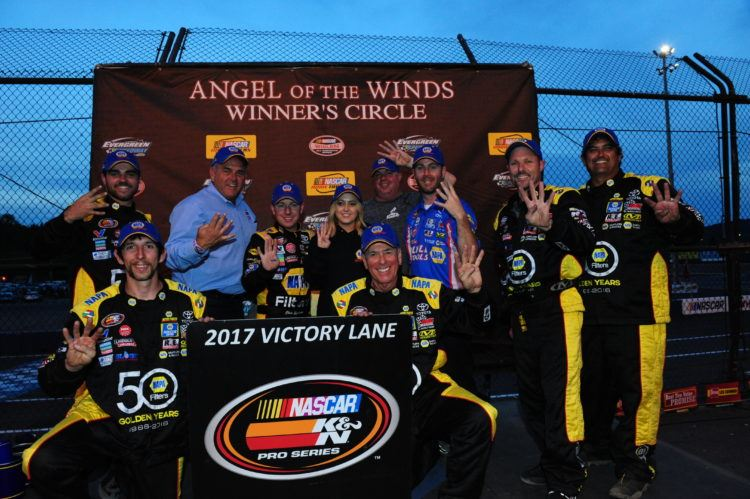 Eggleston Dominates K&N West Action At Monroe