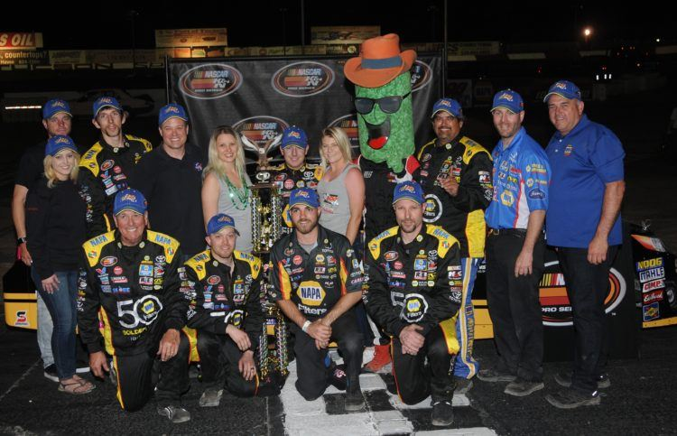 Eggleston Wins NAPA 150 K&N West Opener