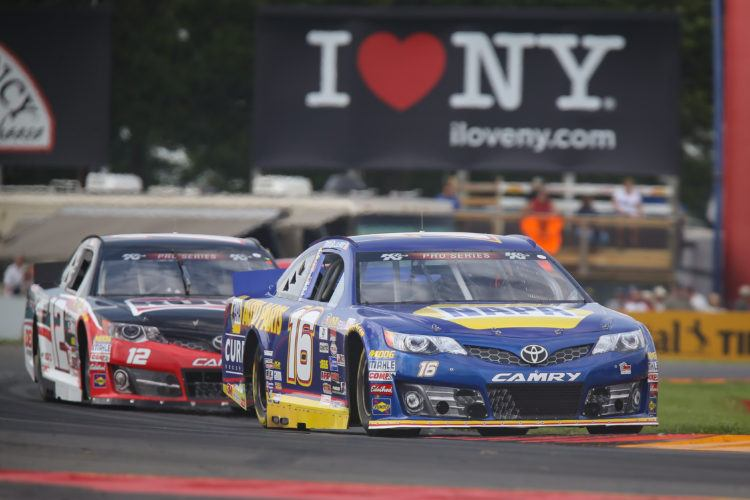 Gilliland Charges To 2nd-Place Finish At The Glen