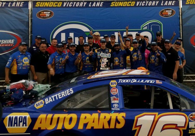 Gilliland Dominates In New Hampshire Win