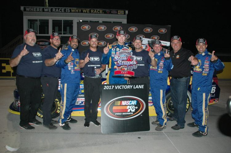 Gilliland Grabs K&N East Win At Berlin Raceway