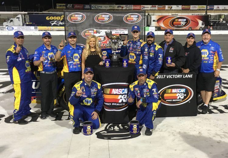Gilliland Victorious At Kern For Second Straight Year