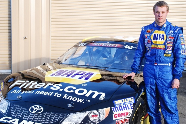 McReynolds To Drive No. 16 NAPA Toyota For BMR In 2014