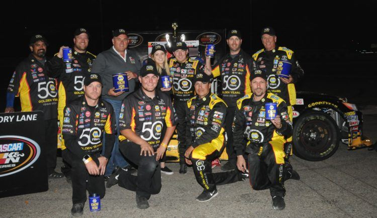 Eggleston Wins K&N West Race At Orange Show